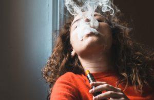 vaping nicotine